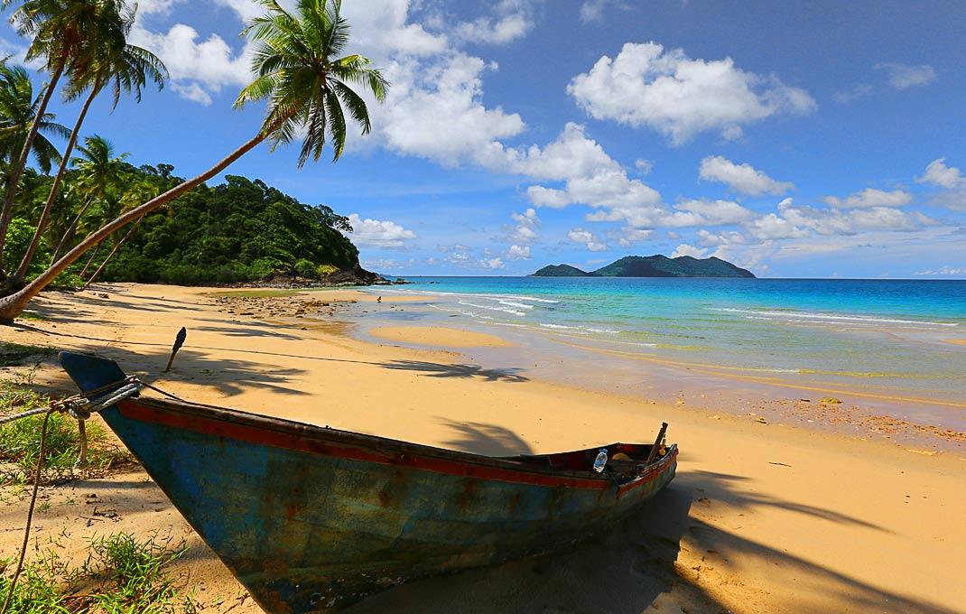 Wai Chaek Koh Chang S Robinson Crusoe Beach Beachmeter