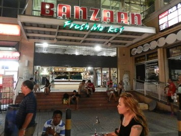 Entrance to Banzaan Fresh Market