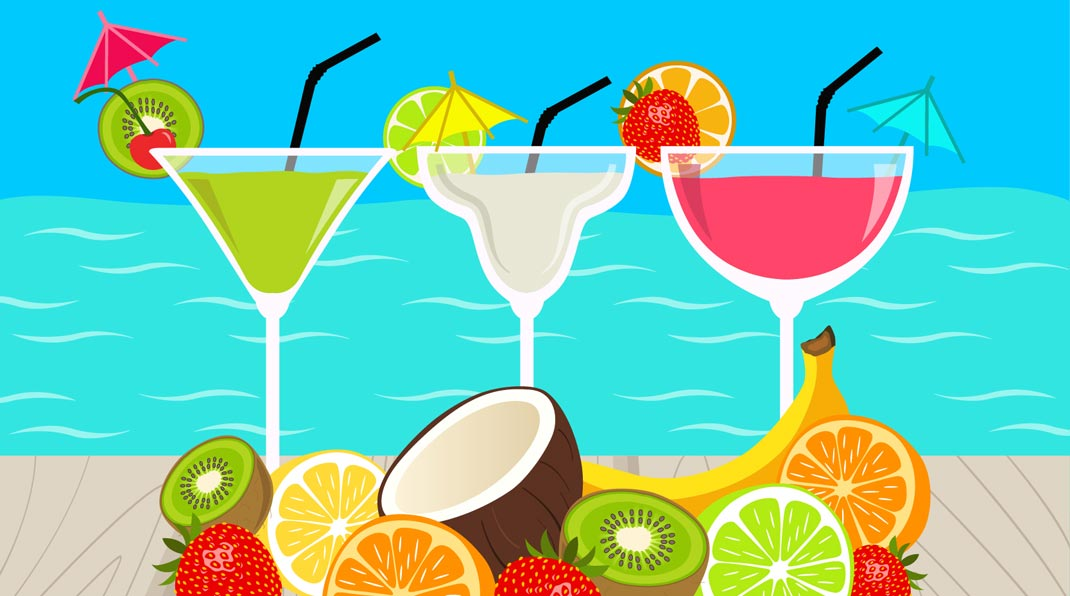 The Best Beach Cocktails Beachmeter