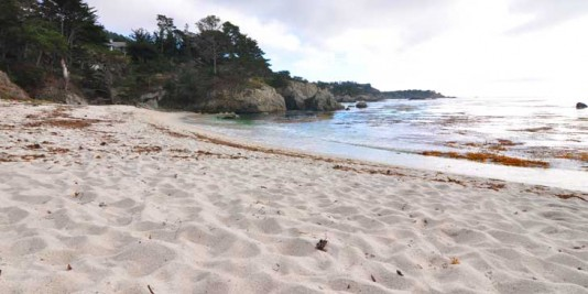 Gibson Beach - a beautiful beach on the Californian west coast.