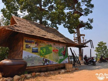 Kampot Zipline River Park