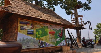 Kampot Zipline River Park in Cambodia offering cheap ziplining adventures