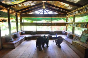 Escape Bar and chill-out area, Escape3Points Ecolodge