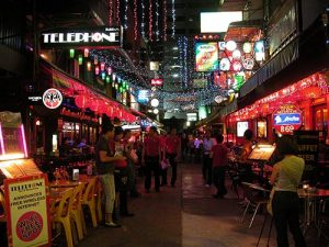 Patpong Street Silom Bangkok