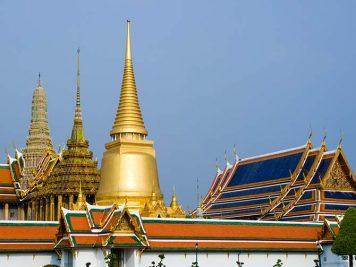 Royal Palace exterior, Rattanakosin, Bangkok, Thailand.