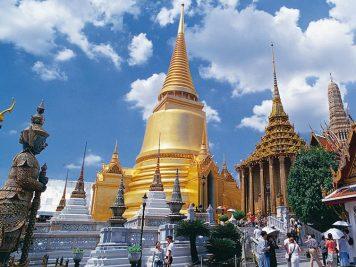 Wat Phra Kaeo in Bangkok, Thailand.