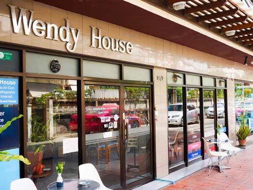 Wendy House Exterior at Siam Square Bangkok