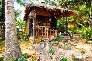 Cute bungalow at M'Pay Bay Village, Koh Rong Samloem in Cambodia. © Beachmeter.com