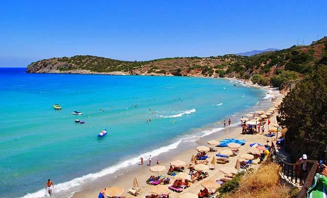 Crete's Voulisma beach