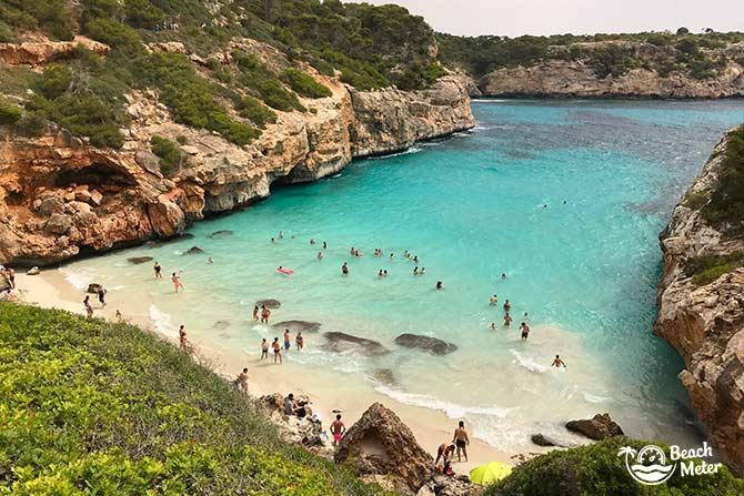 Spectacular Mallorcan beach Calo des Moro