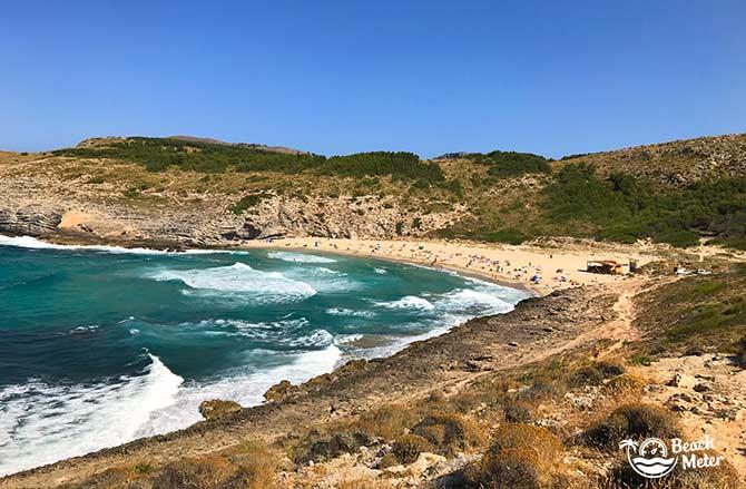 Mallorca's best beach Cala Torta