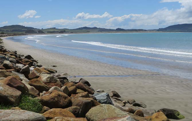 Colac Bay of New Zealand