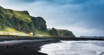 icelandic black beach
